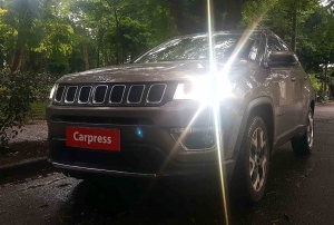 O Jeep Compass, testado na versão Limited 4x2 2.0 Tigershark
