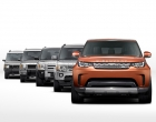 As diferentes gerações do SUV premium da Land Rover