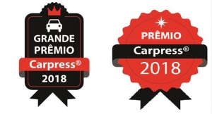 Os selos do Grande Prêmio Carpress e do Prêmio Carpress 2018