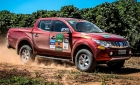 Picape L200 Triton participa do Mitsubishi Motorsports no interior de SP