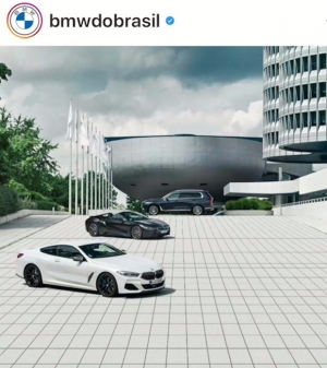 Print do Instagram da BMW do Brasil