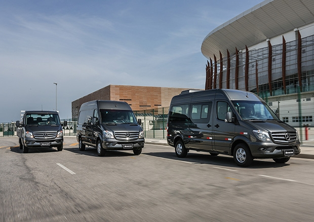 Sprinter: distribuição urbana, e-commerce, ambulância e transporte executivo