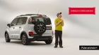 Cena da nova campanha do Citroën Aircross